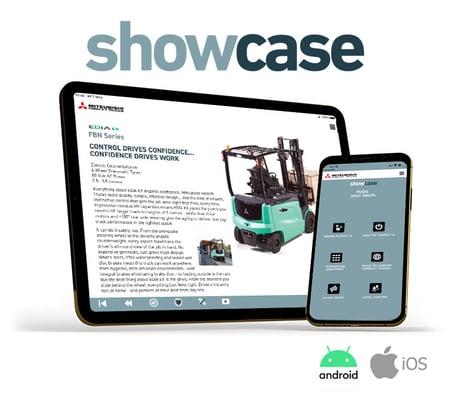 Mitsubishi-showcase-app
